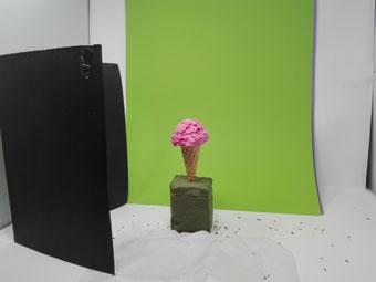 Fotografía de alimentos Como hacer helado artificial para sesión de fotos por Niri Rodríguez Fotógrafa